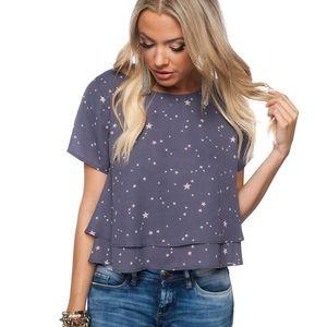 Buddy love galaxy star blouse